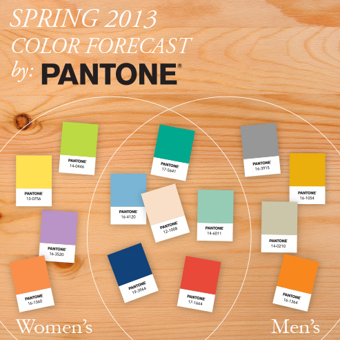pantone spring 2013